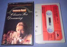 JAMES LAST CLASSICS FOR DREAMING PAPER LABELS cassette tape album T4242