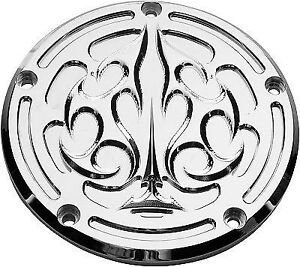 Wild Billet Derby Cover  PREC. BILLET Chrome HD-ACE-DERBY
