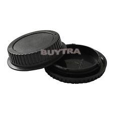 Body Cover + Lens Rear Cap for CANON EF Camera + Lens Protect Useful DSUK 0Q