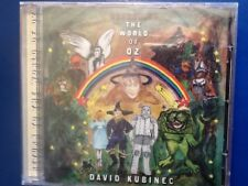 DAVID.  KUBINEC.       RETURN. TO. THE. WORLD. OF. OZ.         CHERRY. RED  CD