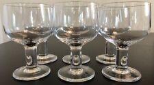 8 ROSENTHAL studio line / plus Crystal Wine Glasses (etched logo)