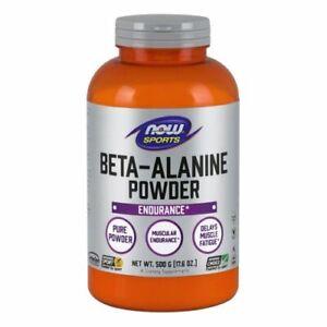 Beta Alanine Powder 500 g by Now Foods