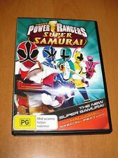 POWER RANGERS : SUPER SAMURAI - THE NEW SUPER SAMURAI PLUS HALLOWEEN DVD R4