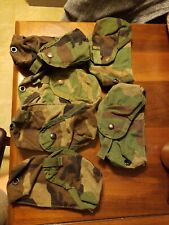 Military Mag Pouch Molle II NSN 8465 01 465 2092 Lot of 6 With Ammo Bag