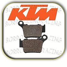 COPPIA PASTIGLIE ORGANICHE OFF ROAD POSTERIORI KTM EXC 125 2004 2005 2006 2007
