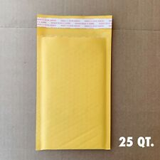 """25#00 5""""x10"""" Kraft Paper Bubble Padded Envelopes Mailers Shipping Case"""