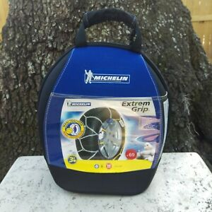 Michelin Snow Chains M1 Extreme Grip 69 Made in Europe High Quality BMW Audi