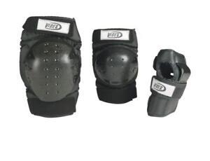 Vibes Beam  Schützerset Protektorenset 6 teilig  in schwarz Inline Skates