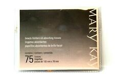 Mary Kay Beauty Blotters Oil Absorbing Tissue 75 Sheets Brand New