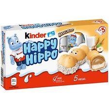 KINDER HAPPY HIPPO (NOCCIOLA) CONFEZIONE DA 5 PEZZI FERRERO 2021 LIMITED EDITION