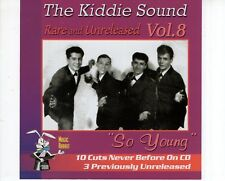 CD THE KIDDIE SOUND	vol 8 MINT	DOO WOP  (B1843)