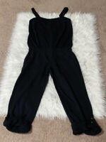 Juicy Couture Black Tank Jumpsuit Size S