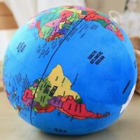 Creative Plush Globe Toys Cute Soft Doll Globe Pillow Toy Learning Toy Gifts