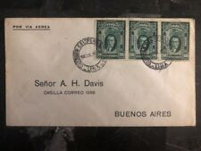 1929 Lima Peru First Flight cover FFC to Bueno Aires Argentina