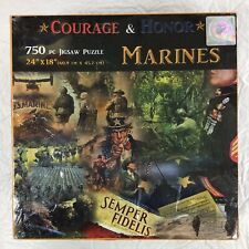 Courage and Honor  Marines Jigsaw Puzzle 750 Pieces
