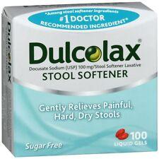 Dulcolax Stool Softener Liquid Gels - 100 CP