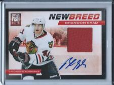 "2011-12 ELITE ""NEW BREED"" BRANDON SAAD GU AUTO #4 ROOKIE YR #D 48/50"