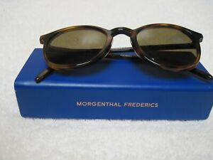 Morgenthal Frederics Sunglasses Benny 685 Tortoise 49-22 Made in France