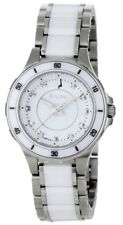 Bulova 98P124 Ceramic and Stainless-Steel Diamond Accented Dress Ladies Watch