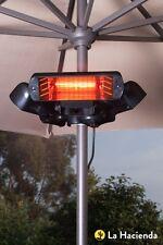 La Hacienda/Heatmaster electric infrared parasol/patio/marquee heater U2BS-R24