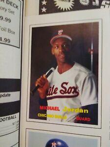 MICHAEL JORDAN SCD Baseball Card Price Guide Magazine November 1990 W/ Inserts