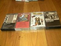 Classic Rock 70s Greatest Hits 4 Cassette Lot: Kansas, Bad Co., ZZ Top, Alice