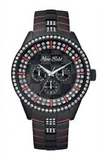 Marc Ecko Men's Black Watch E21578G1 Crystal Accented