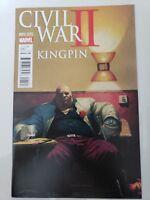 CIVIL WAR II: KINGPIN #1 (2016) MARVEL COMICS VARIANT COVER ART! 1ST PRINT