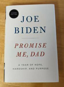 "Joe Biden Autographed Signed ""Promise Me, Dad"" Book 1st Edition President"