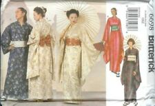 Butterick Ethnic Japanese Oriental Costume Sewing Pattern Obi Kimono Robe 6698