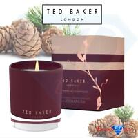 Ted Baker Pink Pepper & Cedarwood Luxury scented Candle 200g In Box, Gift Idea