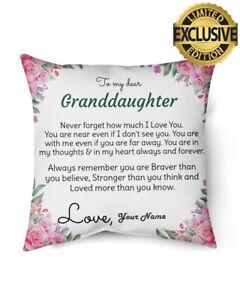 To My Beautiful Great-Granddaughter Indoor Pillow