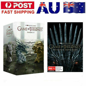 Game Of Thrones The Complete Season 1-8 Box Set Complete Series1 2 3 4 5 6 7 DVD
