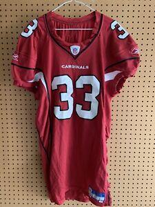 2006 Arizona Cardinals #33 Reebok Game Worn Jersey Size 48