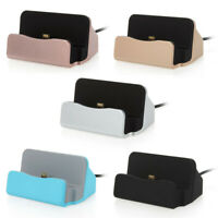 Universal Micro USB Magnetic Charger Dock Cradle Stand Station For Android Phone