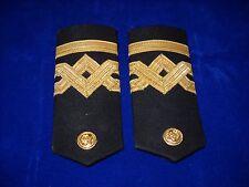 Vintage Pair Epaulettes Lieutenant Greek Merchant Navy