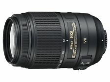 Nikon AF-S DX NIKKOR 55-300mm F4.5-5.6 G ED VR Lens+Kenko Lens filter, AS NEW!