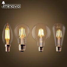 LED Filament Bulb E27 Retro Edison Lamp 220V E14 Vintage Candle Light Globe Chan