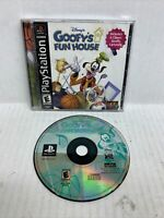 Disney's Goofy's Fun House (Sony PlayStation 1, 2001) PS1 Complete Game CIB