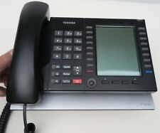 Toshiba IP IP5531-SDL desktop office phone Black Large Display VoIP PoE capable