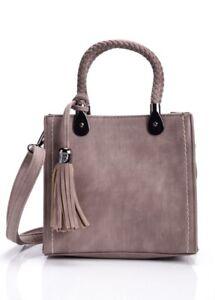 Fashion Nova Mauve Crossbody Bag