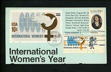 Ranto Cachet US FDC #2013 on 1571 Mary Walker surgeon Women's Year 1982