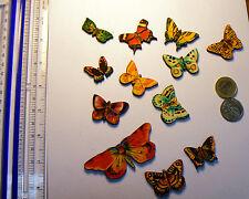 Laser cut wood dies, Butterflies