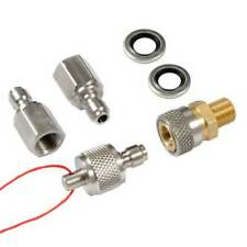 Quick Coupler Starter Kit with Stainless Steel Test Plug
