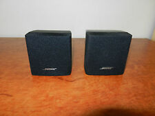 "BOSE ACOUSTIMASS CUBE SPEAKERS x2 ""GENUINE BOSE MADE"""""