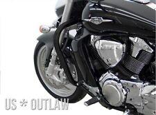 US * OUTLAW Schutzbügel schwarz Ø 38 mm Suzuki M1800R VZR1800 Intruder M1800