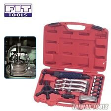 FIT TOOLS Universal 12 Tons Hydraulic Gear 3 Jaws Hub Puller / Separator Set