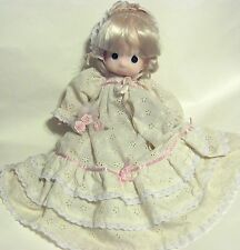 "Vintage *Precious Moments* Doll Porcelain  ""Jenny""  made in the Phillipines"