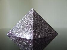 Orgón 23k de punto cero Scalar Energy Reich Nano 5xdt Cuarzo Citrino Berilo Pirámide
