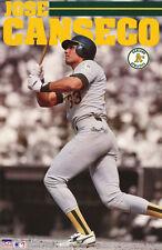 POSTER: MLB BASEBALL: JOSE CANSECO - OAKLAND A'S - FREE SHIPPING ! RW13 V